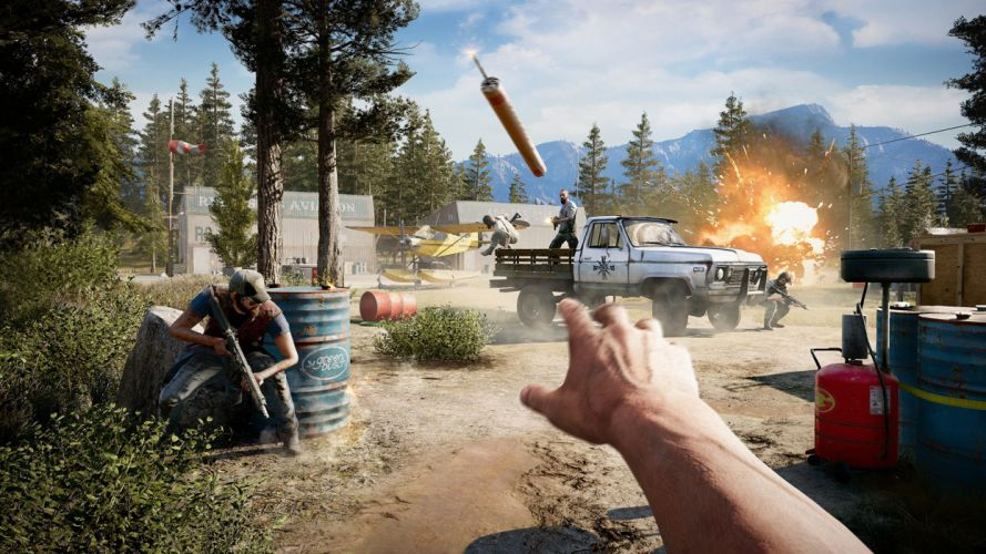 1fc5 Far Cry 5 action adventure fps shooter wallpaper