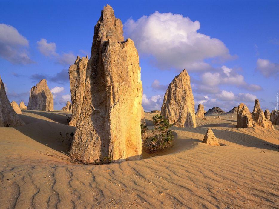 piedras pinadas desierto australia wallpaper