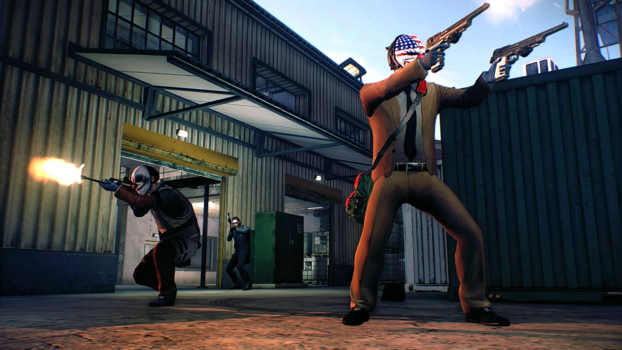 1pd2 Payday 2 fps shooter action stealth tactical crime wallpaper