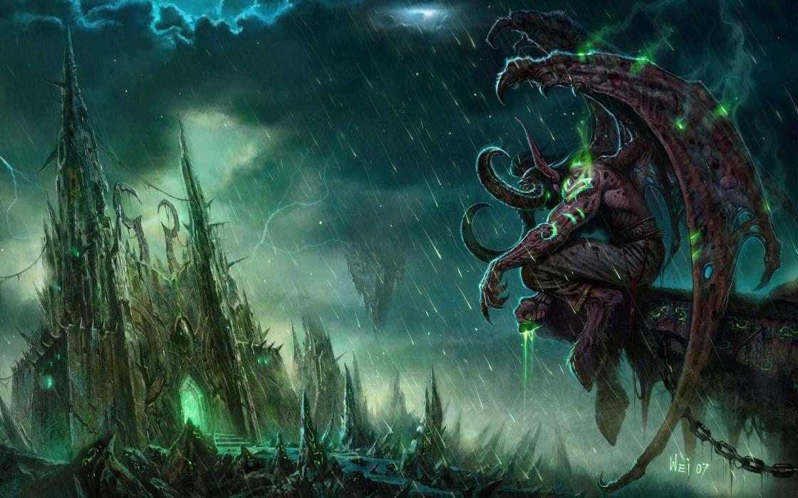 World Of Warcraft Warcraft Illidan Stormrage wallpaper