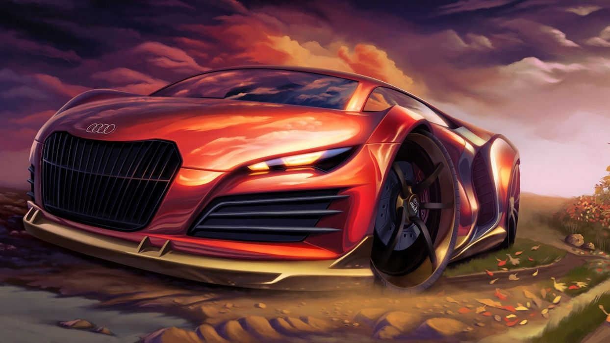 Cars Audi Artwork wallpaper