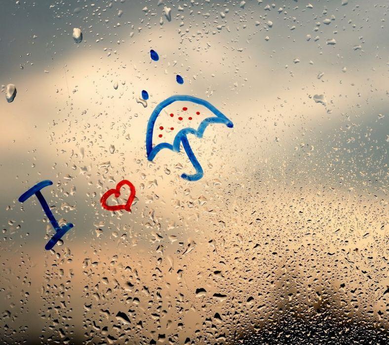 Artist I Love Rain wallpaper