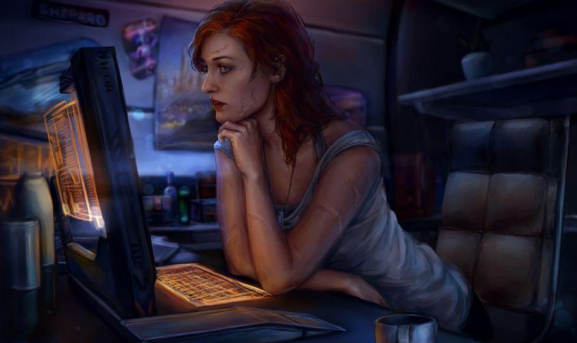Games Mass Effect Commander Shepard wallpaper