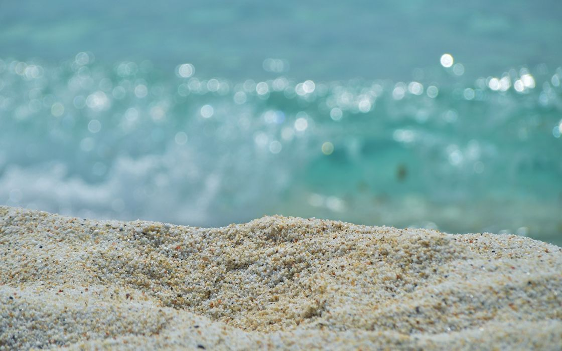 sand nature beach sea wallpaper