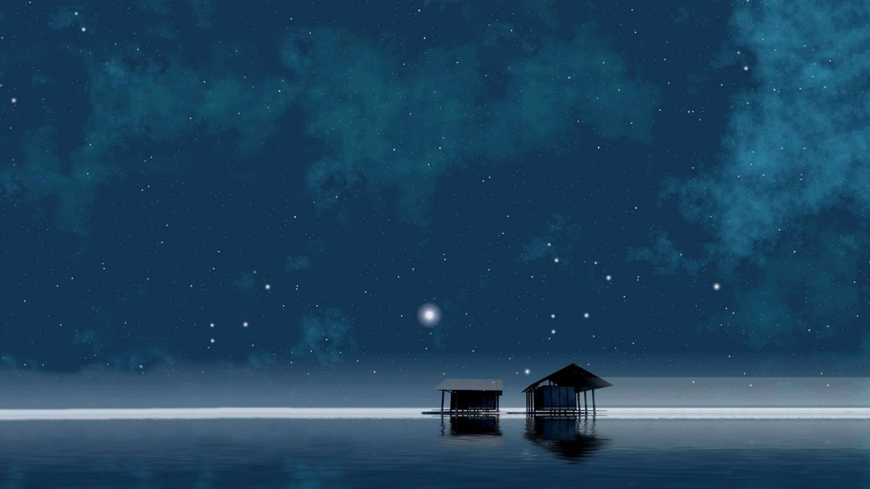 Nature Sky At Night wallpaper