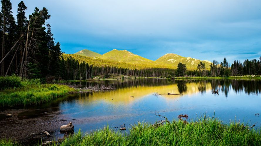 Nature Rocky Mountains National Park wallpaper