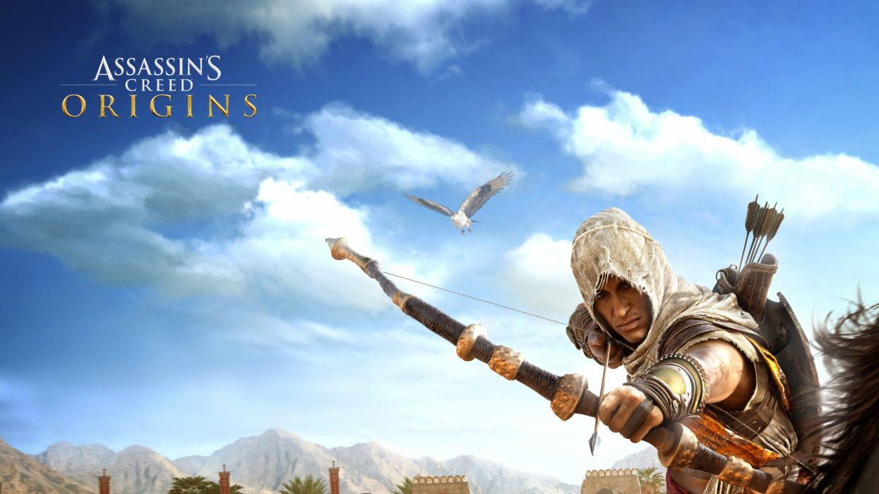 Assassins Creed Origins 1asco action adventure assassin fantasy fighting game stealth video videogame warrior wallpaper