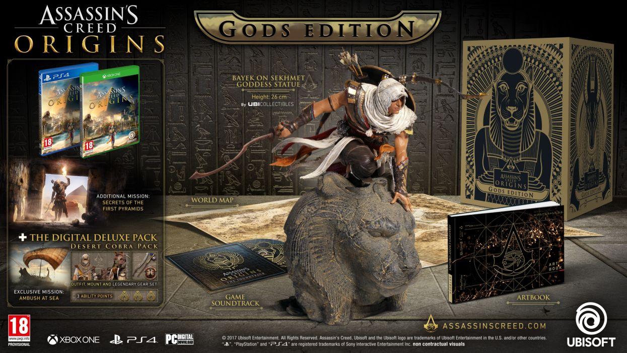 Assassins Creed Origins 1asco action adventure assassin fantasy fighting game stealth video videogame warrior wallpaper