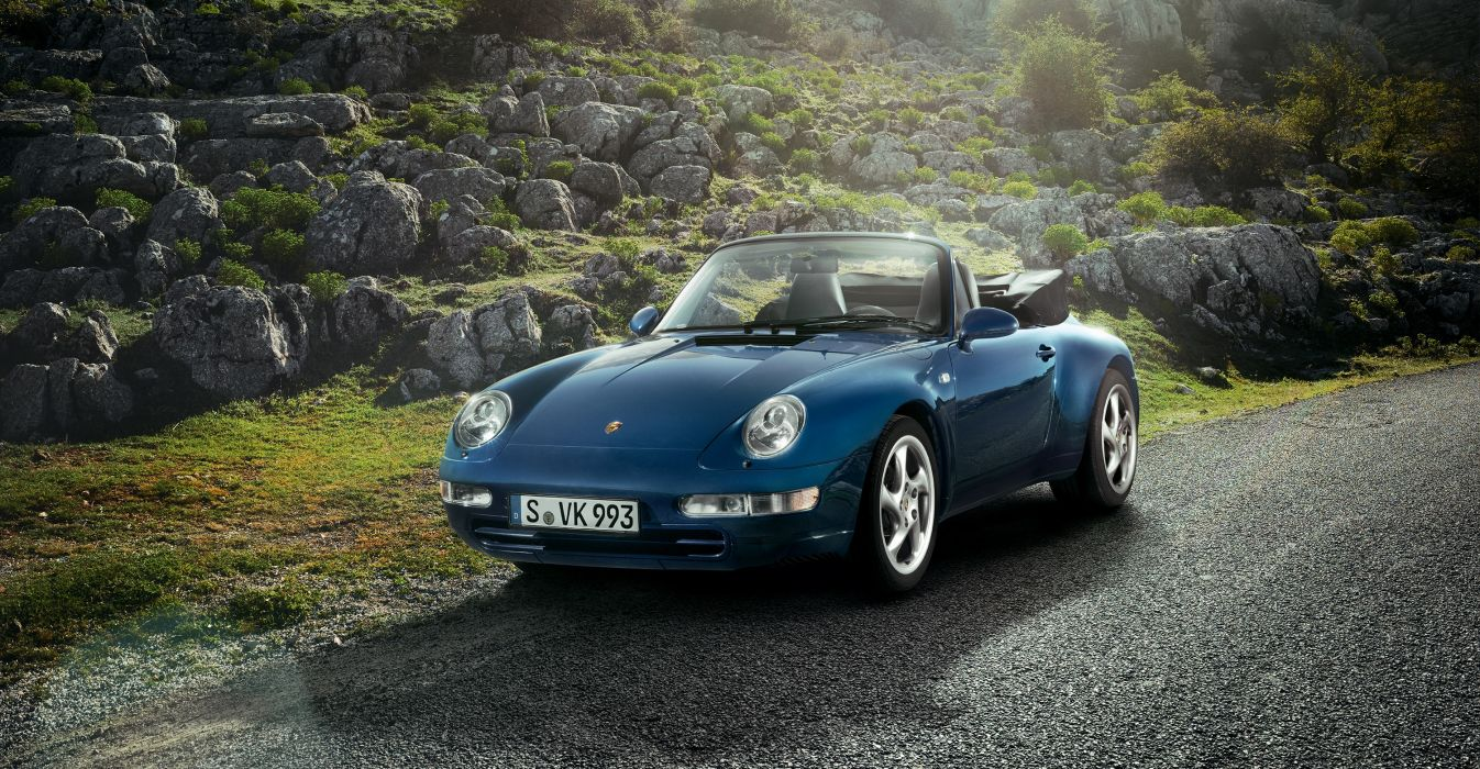 Porsche 911 Carrera 3 6 Cabriolet 993 1994 wallpaper