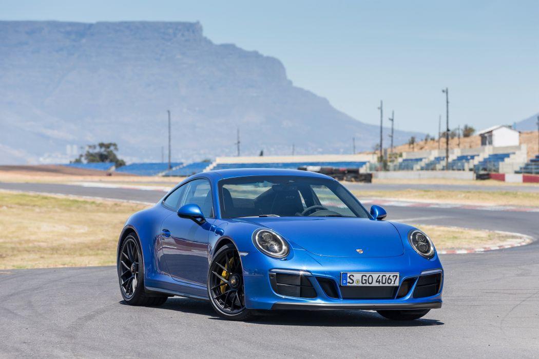 Porsche 911 Carrera 4 GTS 991 2 2017 wallpaper