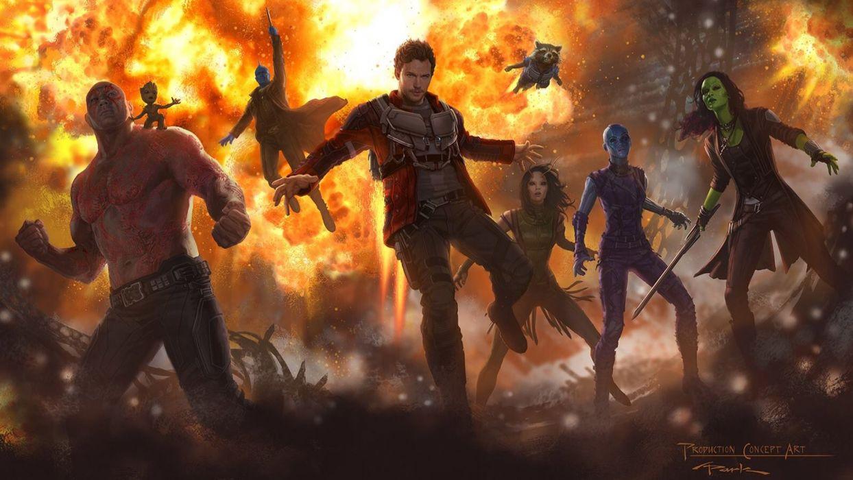 Artist Guardians of the Galaxy Vol 2 Concept Art wallpaper