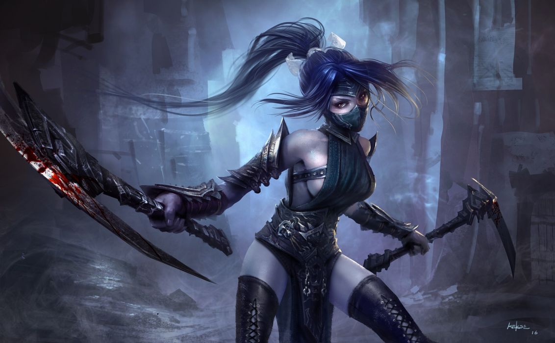 Games Akali League Of Legends wallpaper