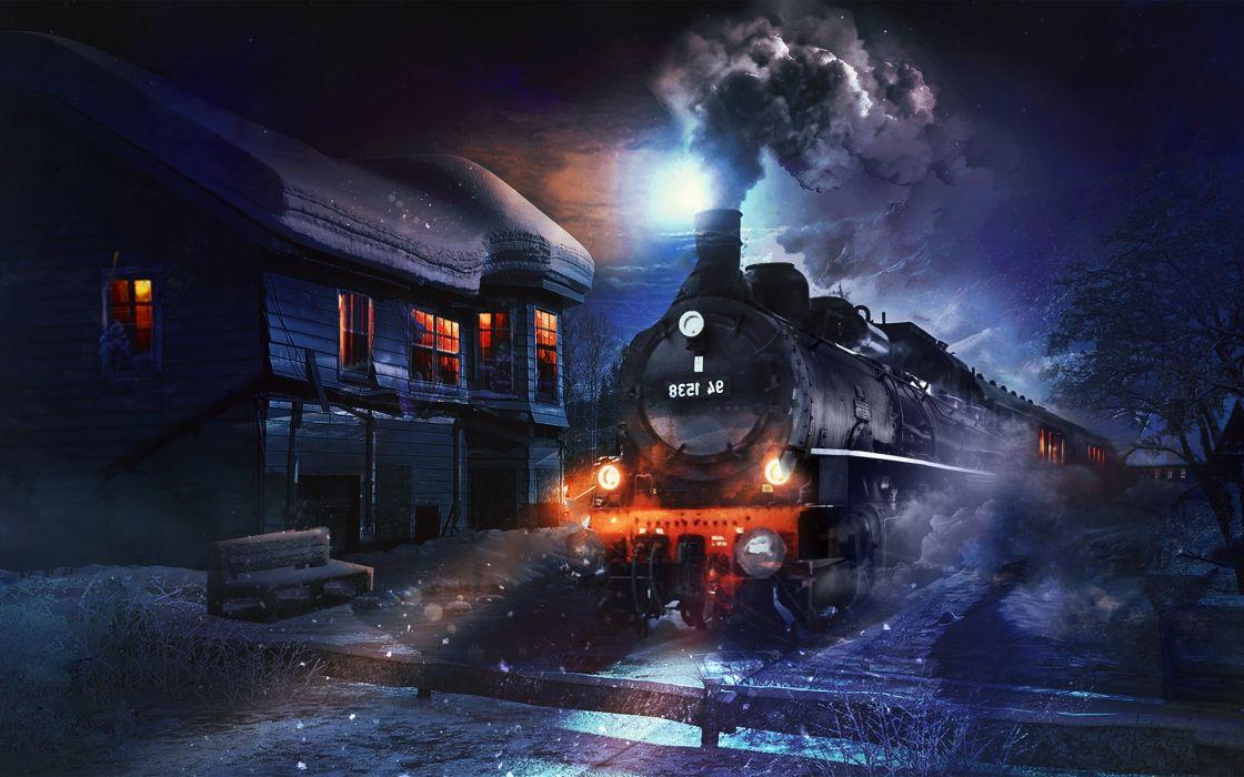 Graphics Coal Train wallpaper
