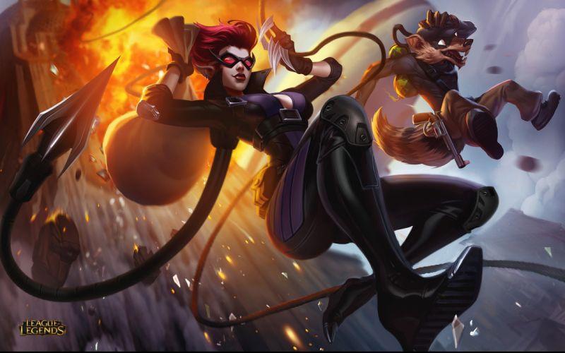 Games League Of Legends Evelynn wallpaper