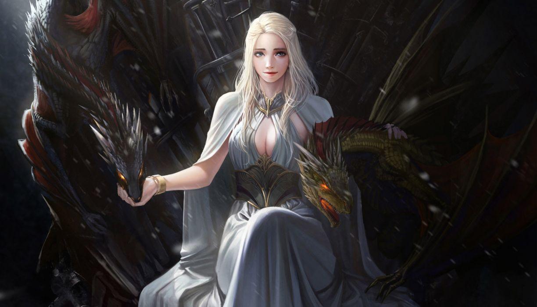 Game of Thrones Daenerys Targaryen Artwork wallpaper