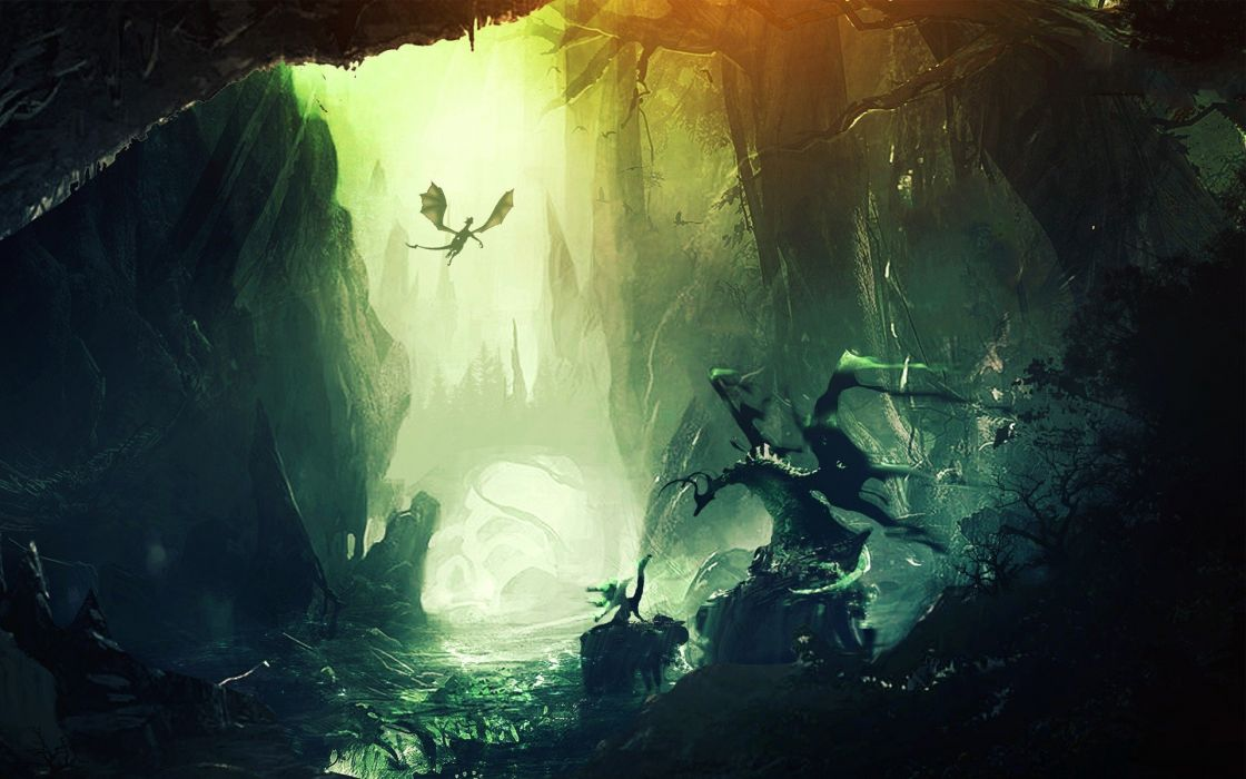 Graphics Dragon Wings wallpaper