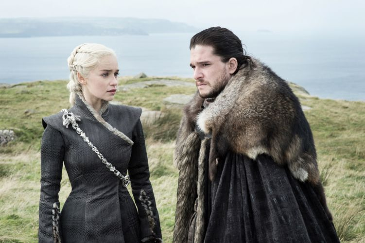 Tv Shows Game Of Thrones Season 7 Daenerys And Jon Snow wallpaper