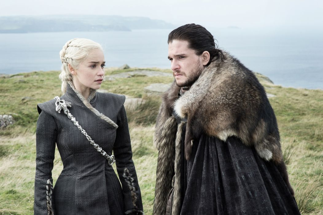 Tv Shows Game Of Thrones Season 7 Daenerys And Jon Snow wallpaper