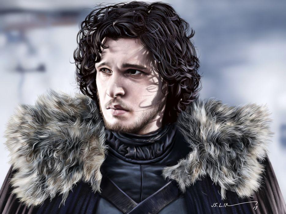 Tv Shows Jon Snow Fan Art wallpaper