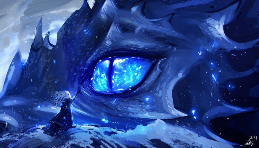 Anime Anime Dragon Eye wallpaper