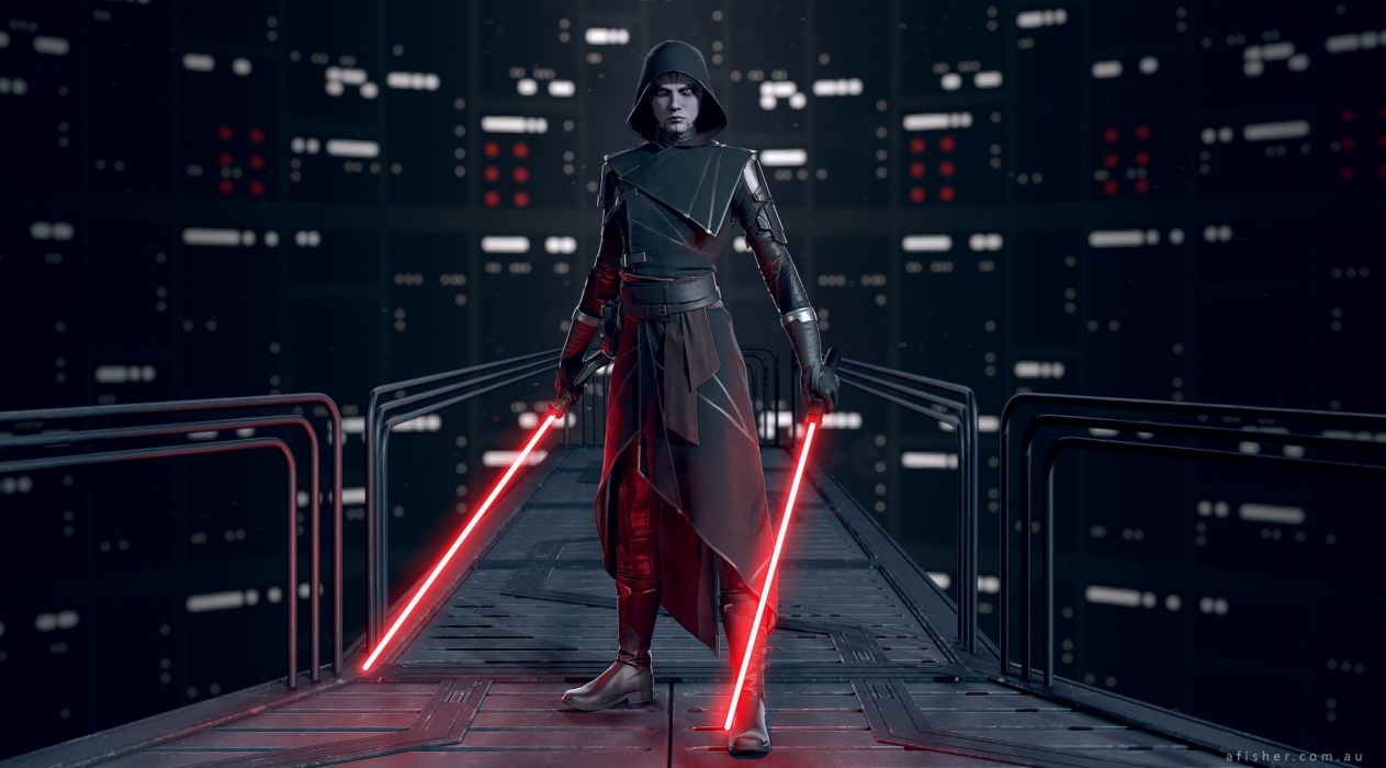 Star Wars Lightsaber Art wallpaper