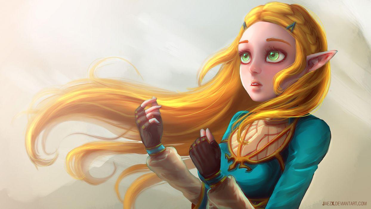 The Legend of Zelda Breath of the Wild Artwork wallpaper