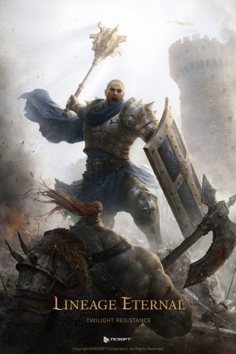 erak-note Digital 2D original fantasy artist warrior monster male wallpaper