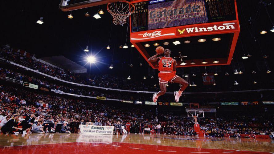 Jordan free throw dunk wallpaper