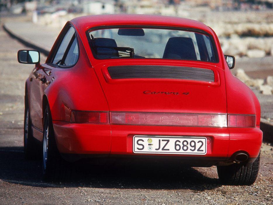 Porsche 911 Carrera 4 964 MkI 1988 wallpaper