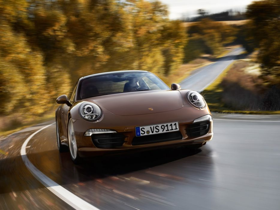 Porsche 911 Carrera 4 991 2012 wallpaper