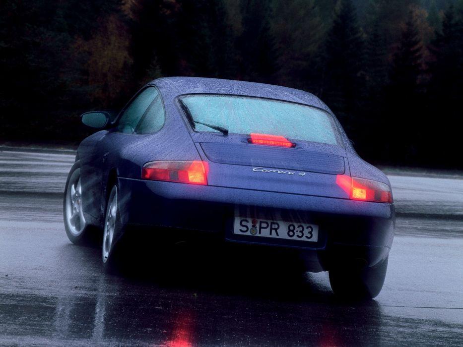 Porsche 911 Carrera 4 996 MkI 1998 wallpaper