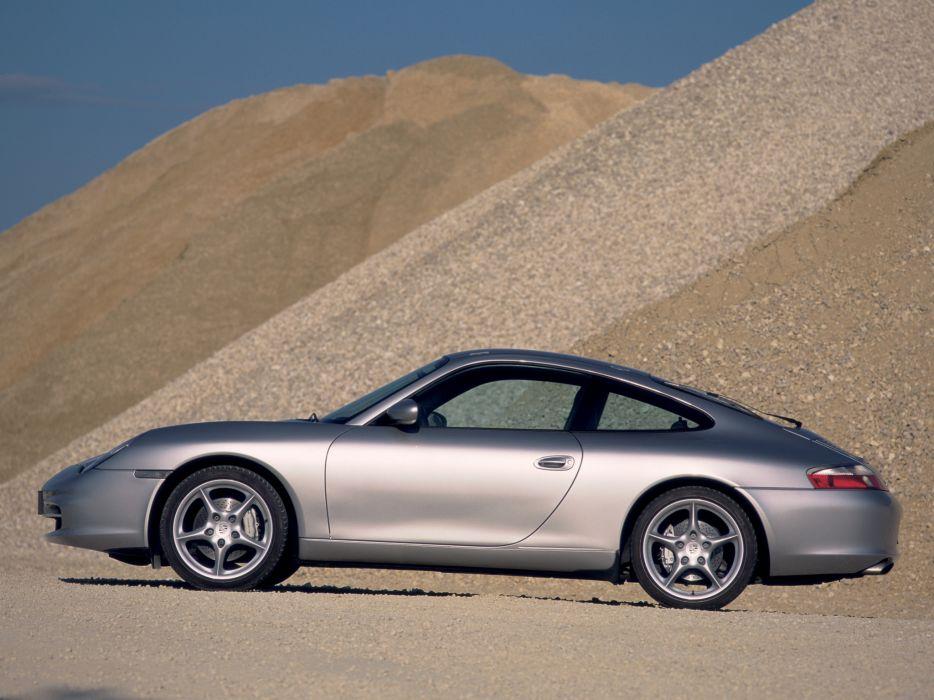 Porsche 911 Carrera 4 996 MkII 2001 wallpaper