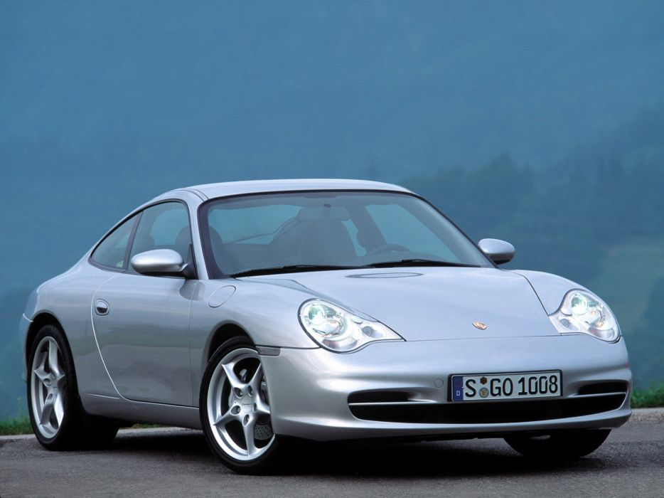 Porsche 911 Carrera 4 996 MkII 2001 wallpaper