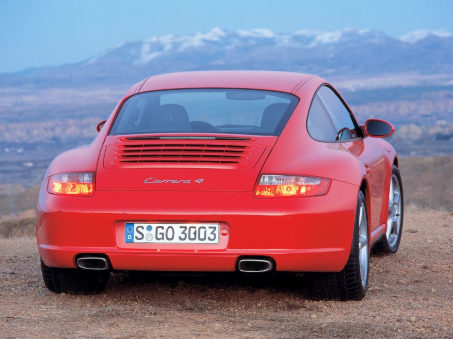 Porsche 911 Carrera 4 997 MkI 2006 wallpaper