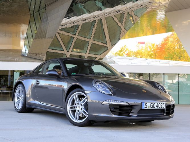 Porsche 911 Carrera 4 991 2012 wallpaper