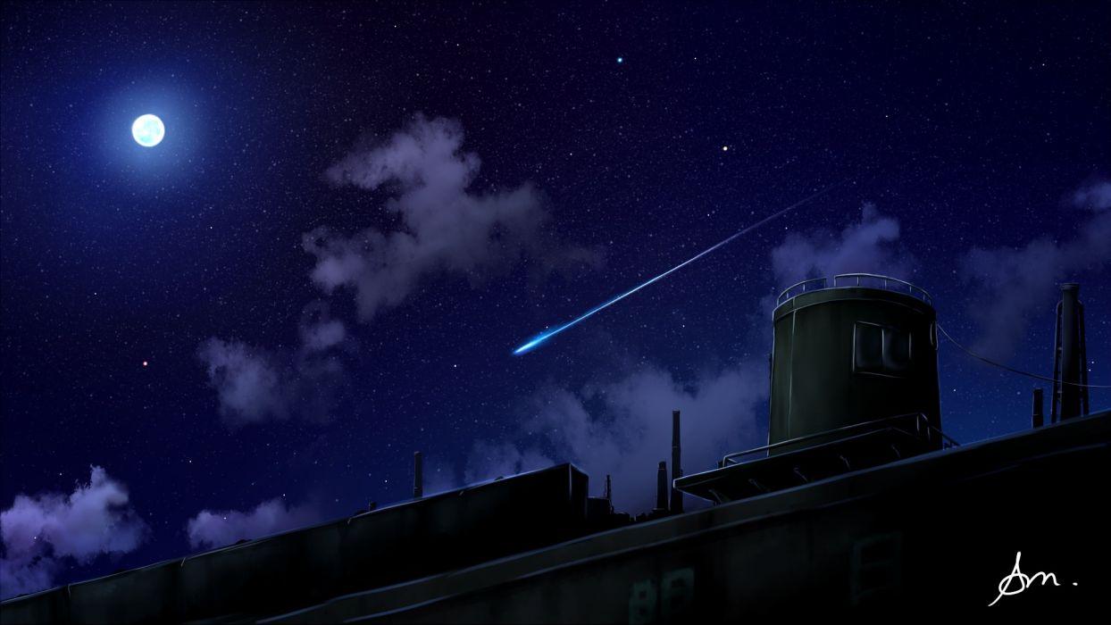 Konachan com - 239549 alpcmas clouds dark moon nobody original scenic signed sky wallpaper