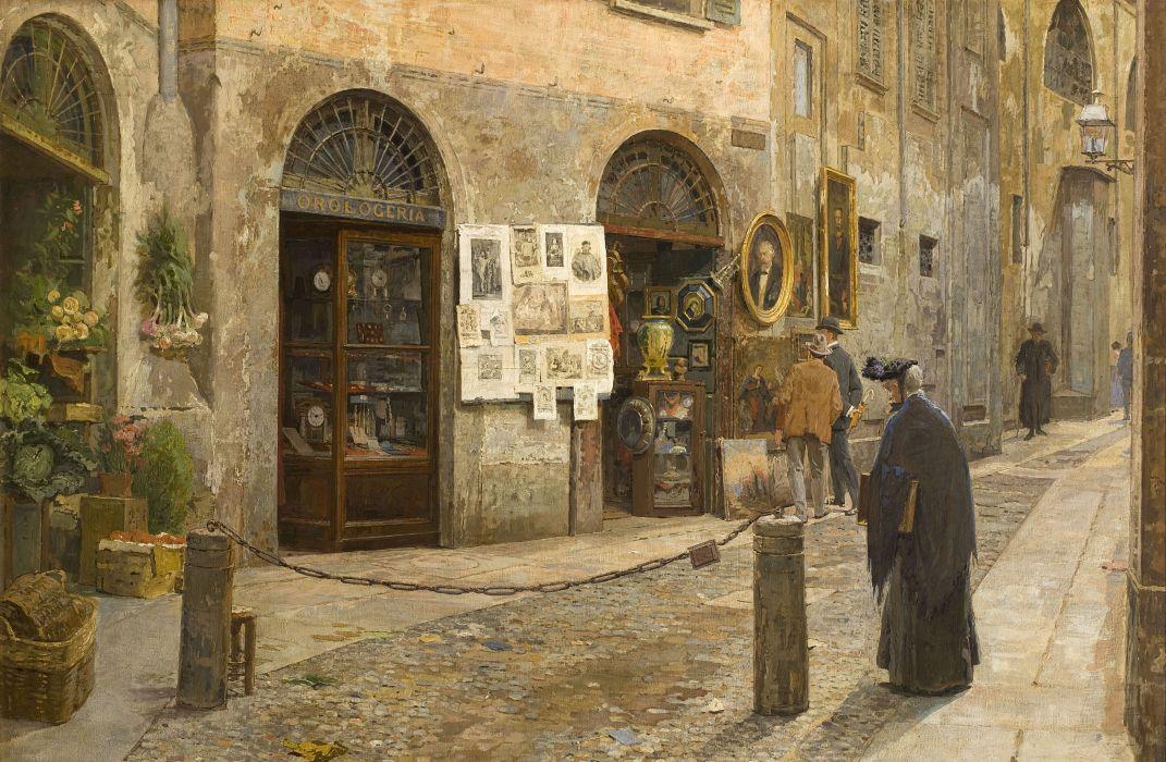 Vicolo San Bernardino alle Ossa a Milano wallpaper