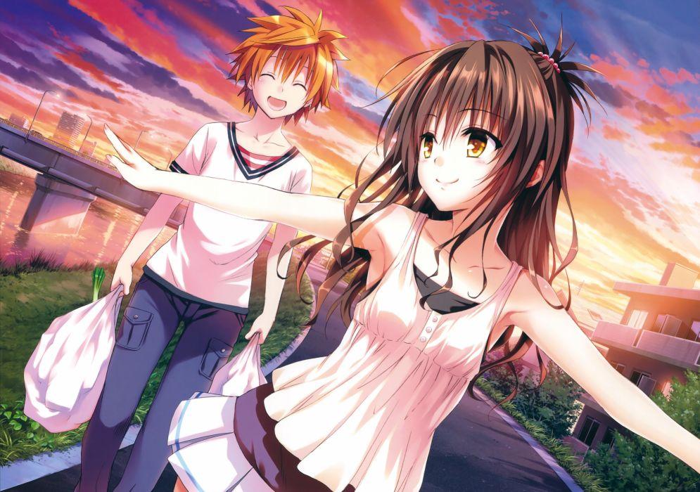 Konachan com - 237657 loli male to love ru to love ru darkness yabuki kentarou yuuki mikan yuuki rito wallpaper
