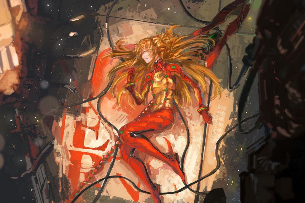 Konachan com - 237830 neon genesis evangelion song ren soryu asuka langley tagme wallpaper