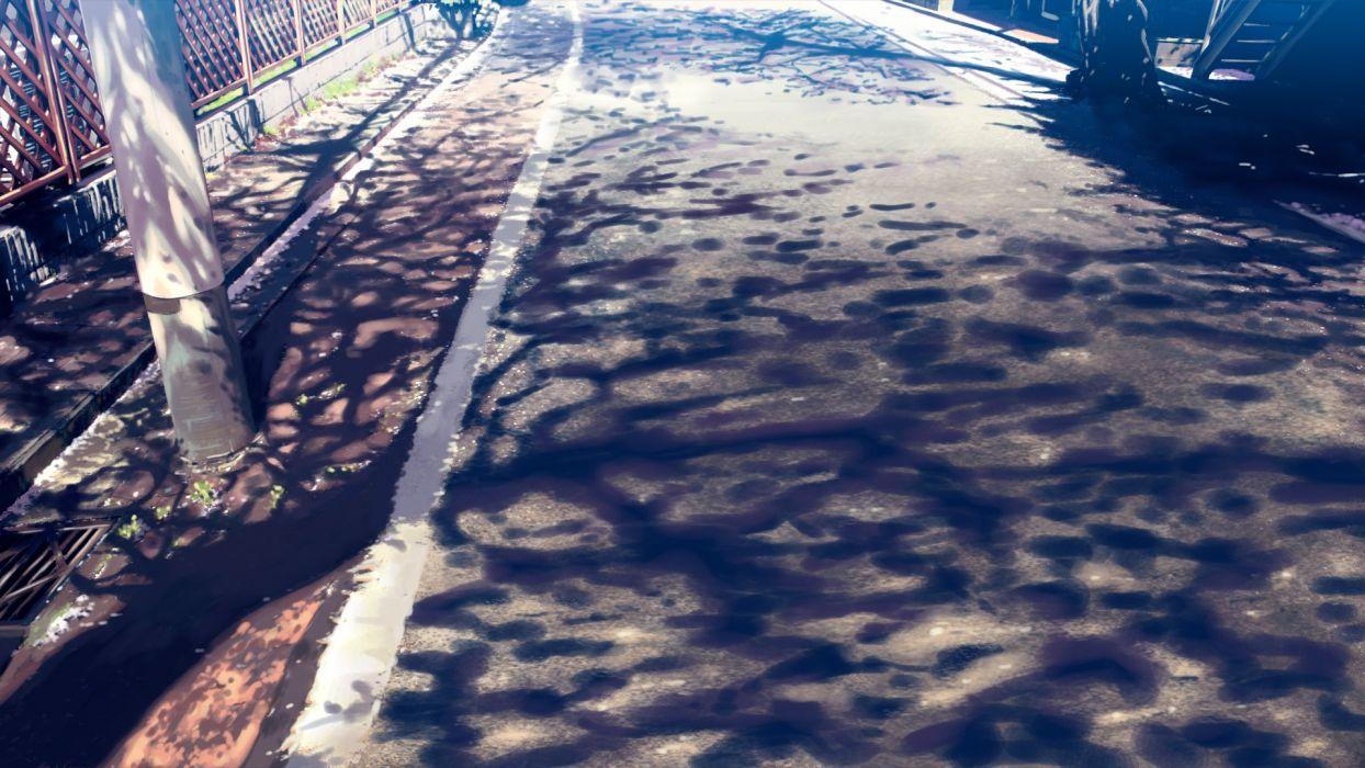 Konachan com - 237914 isai shizuka nobody original shade stairs wallpaper
