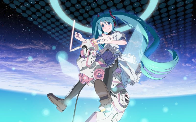 Konachan com - 238068 hatsune miku long hair shiwasu takashi twintails vocaloid wallpaper