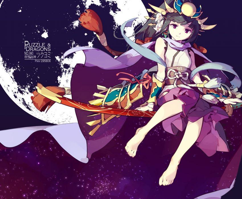 Konachan com - 238547 puzzle & dragons tennohi yomi (p&d) wallpaper