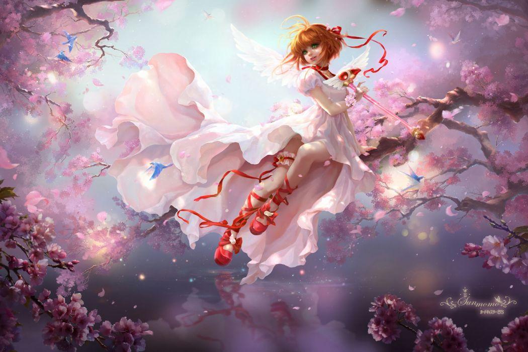 Konachan com - 238540 card captor sakura kinomoto sakura realistic sunmomo wallpaper
