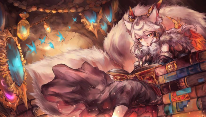 Konachan com - 238555 ilmina (p&d) mi bait puzzle & dragons wallpaper