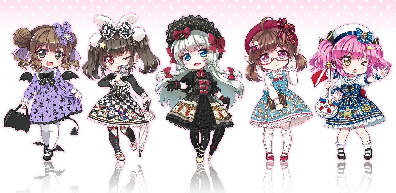 Konachan com - 238602 aqua eyes book bow braids chibi glasses gloves hat original pantyhose pink hair red eyes socks stockings umbrella waifu2x wings wink wristwear wallpaper