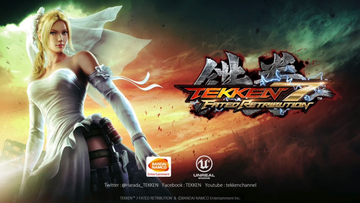 TEKKEN action arena arts fighting kung martial seven warrior fantasy wallpaper