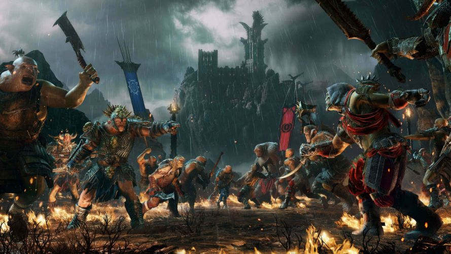 Middle-earth Shadow of War lotr lord rings fantasy 1mesw middle earth game videogame action adventure fighting wallpaper