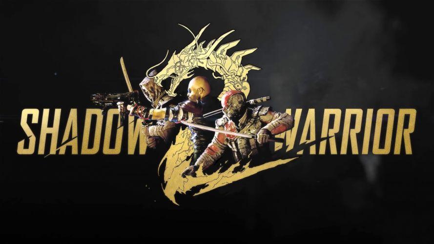 Shadow Warrior action fighting futuristic shooter sci-fi fantasy fps 1swar wallpaper