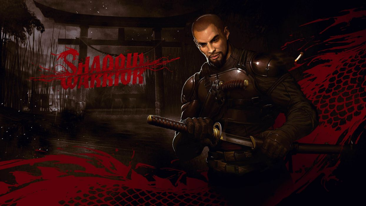 Shadow Warrior action fighting futuristic shooter sci-fi fantasy fps 1swar wallpaper