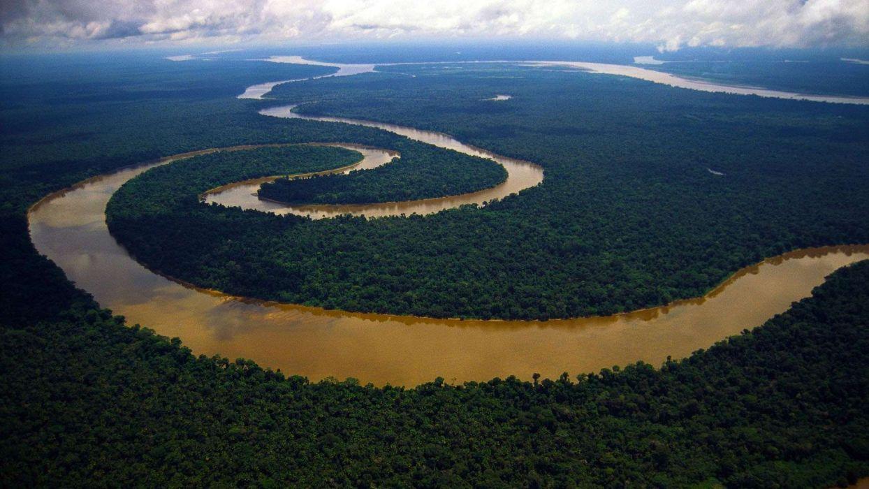 nilo rio africa meandros naturaleza wallpaper